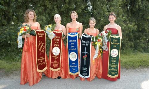 Fahnenbänder 2007