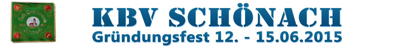 KBV Schönach - Gründungsfest 2015